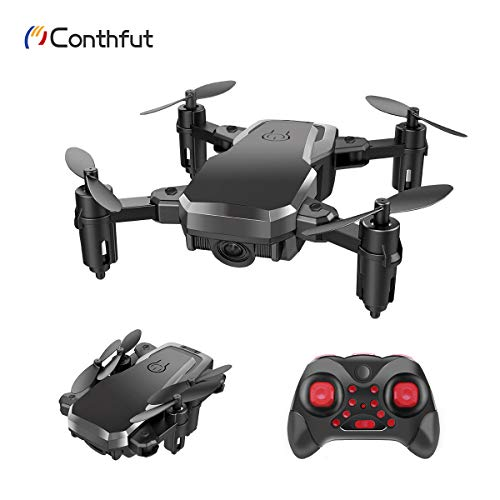 Conthfut C16 Mini Drohne RC Drone für Kinder und Anfänger Quadrocopter Mini Helikopter Automatischer Höhehaltung, 3D 360° Wendung, EIN-Tasten-Rückkehr/Start / Landung, Kopflosem Modus