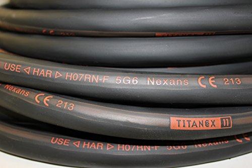 Gummileitung H07RN-F 3x2,5 qmm Industriequalität 100m