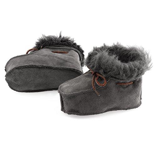 Cordeiro Sapatos Do Sorriso Bebê De Pele Prémio Cores Em Originais De Bebê Sapatos Diferentes Cinza nTCtTg
