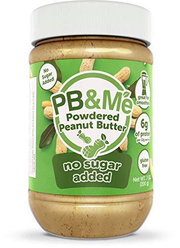 Pb & me - burro di arachidi in polvere nessuno zucchero aggiunto naturale 100 peanuts% - 7.05 once