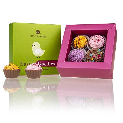4 Easter Cupcakes | Cupcake-Pralinen | Osterpralinen | Ostergeschenk | Schokolade |Ostern | bunte Pralinen |Ostergeschenk | Osterschokolade | Ostern Giveaway | Geschenkidee