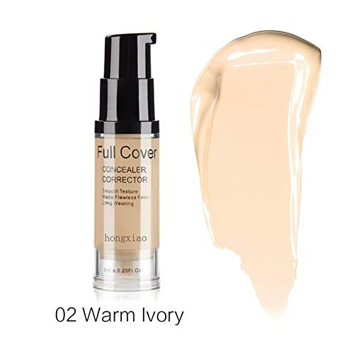 Full Coverage Concealer (Allbestaye Full Coverage Concealer Corrector Cover Pimples Freckles Scars Moisturizing Brighten Skin Color Liquid Cream)