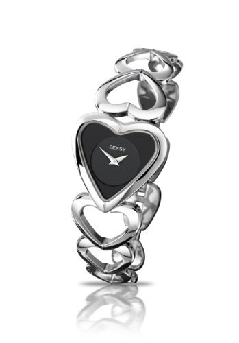 sekonda-seksy-ladies-black-heart-dial-analogue-watch-with-heart-shaped-bracelet-470737