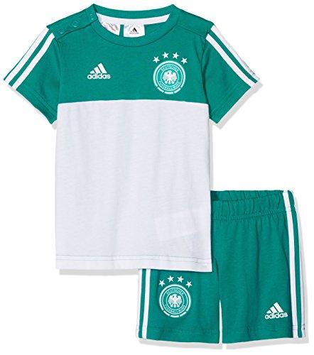 adidas Baby DFB 3 Stripes Summerset Trikot & Short, EQT Green s16/White, 68