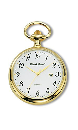 Claude Pascal Taschenuhr gold-farben Lepine, Edelstah-Hitec-IPG 5171106 QEA