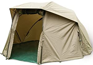 TF Gear Power Brolly Shelter Carp Fishing Bivvy Day Shelter Ex Demo by TF Gear