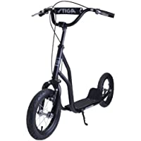 Stiga Sports Air Scooter, Schwarz, 12 Zoll, 80-7382-01