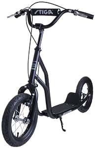 Stiga Sports Air Scooter Schwarz 12 Zoll