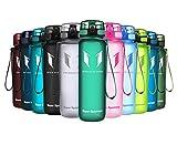 Super Sparrow Bottiglia - Borraccia Sportiva Senza BPA - per Sport, Campeggio, Palestra, Fitness, all'aperto (Verde Foresta, 1000ml-32oz)