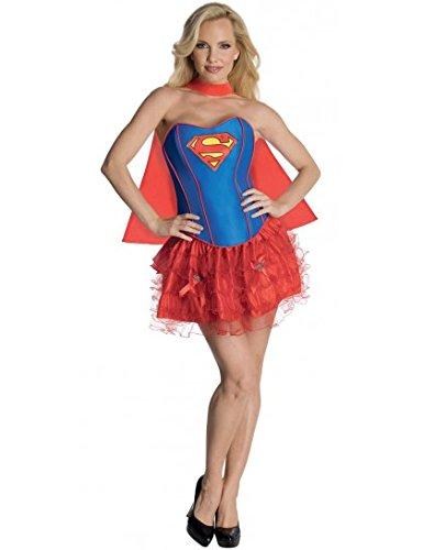 Generique - Heißes Supergirl-Kostüm für Damen S