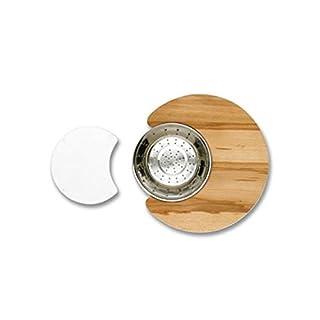 Astracast cc10accexptpk Kitchen Cutting Board–Kitchen Cutting Boards (Glass, Stainless Steel, Wood, Stainless Steel, transparent, Wood)