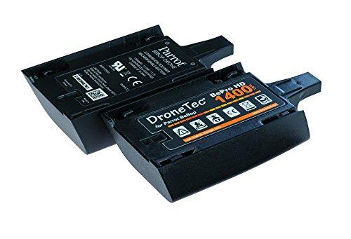 Original DroneTec HD Power Akku für Parrot BeBop * +20% mehr Leistung!