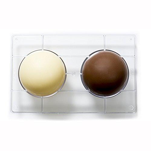 Decora 0050086 Molde Chocolate HEMISFERIO Ø 100-275X15X22MM