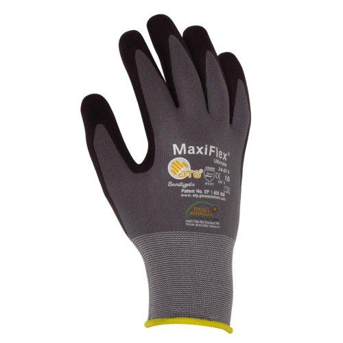 Preisvergleich Produktbild MAXIFLEX Nylon-Strick - Handschuhe - EN 388 CE Cat 2 - Gr. 8