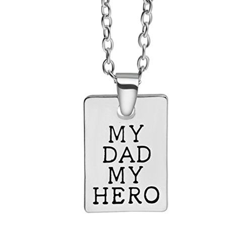 'luoem regalo di genitori estampado etichetta acciaio inossidabile