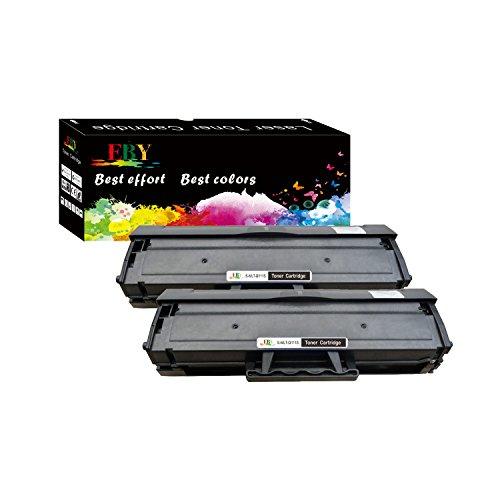 EBY 2 Schwarz Kompatibel Tonerkartuschen Samsung MLT-D111S, D111S, 111S, MLTD111S Toner für Samsung Xpress M2070 M2070W M2020 M2026 M2070FW M2026W M2022W M2022 M2020W (Drucker 2022)
