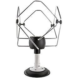 Kuma Antenne TV numérique omnidirectionnelle magnétique Matrix 12 V/24 V pour caravane, camping-car, bateau, fourgon, camion, van pour chevaux