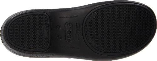 black Schwarz Work Slipper Damen Crocs Neria wqY1H44X
