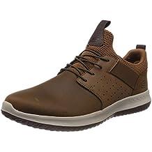 Skechers Delson-Axton, Zapatillas sin Cordones para Hombre