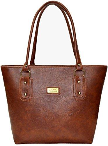 Utsukushii Women's Handbag (Brown) (BG502I)