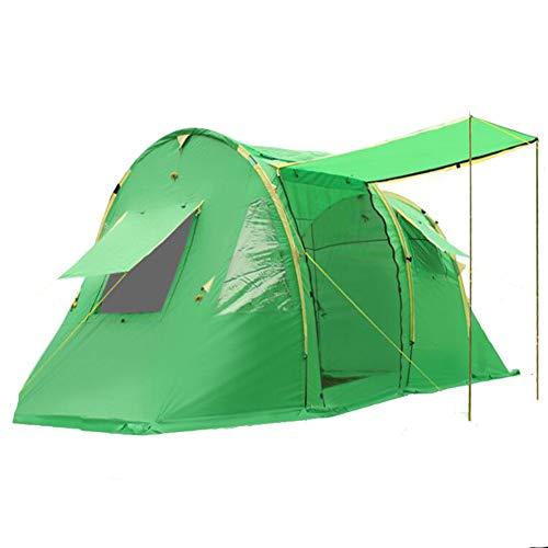 Kcanamgal Übergroßes Zelt Im Freien, 5-8 Personen Doppelt Regensturm Camping Familienzelt Festzelt Großes Kuppelzelt 100% Wasserdichtes Zelt