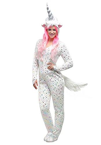 Fun Costumes Magisches Einhorn-Kostüm der Frauen - (Weißes Einhorn Kostüm)