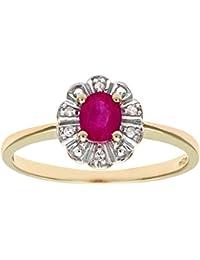 a5e4403f3ea74 Amazon.co.uk: Naava - Rings / Women: Jewellery
