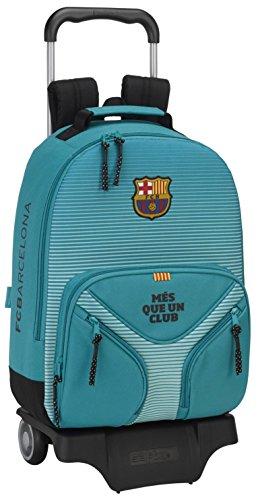 FC Barcelona 611727313 Mochila Escolar, 43 cm, Turquesa
