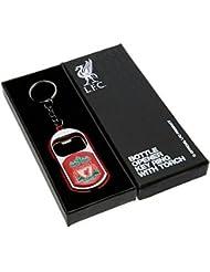 Officiel LIVERPOOL FC Football Lampe torche cadeau Porte-clés décapsuleur–Une Superbe Idée de Cadeau d'anniversaire/de Noël pour hommes et garçons
