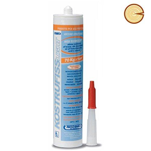 KOSTRUFISS LIGHT adesivo strutturale 70 kg/q