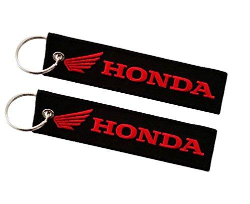 Moto Discovery Porte-clés Double Face pour modèles Honda (1 pièce)