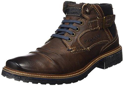 bugatti Herren 311382323232 Klassische Stiefel, Braun Dark Brown, 44 EU