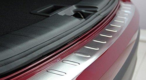 A3 8 V Sportback opaco protezione paraurti in acciaio inox smussatura paraurti