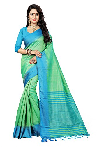 J B Fashion Sarees For Woman cottan Silk Saree With Blouse Piece For Party Wear/Wedding