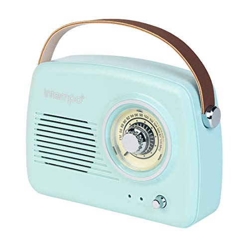 INTEMPO EE3332BLUSTKEU - Altavoz Bluetooth Radio FM