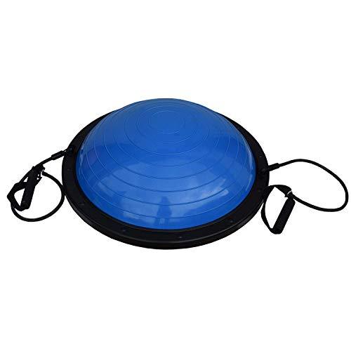 FitAndFun Pelota Equilibrio Bola Cuerdas Azul Resistencia