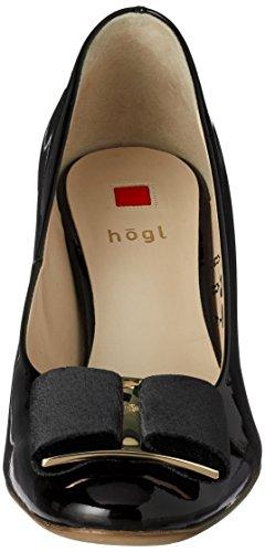 Högl 4-10 5084 0100, Scarpe con Tacco Donna Nero (Schwarz)