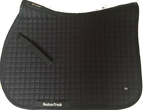 Details zu Back on Track Schabracke Springen/VS Welltex® No I schwarz mit Keramikfasern (Full)