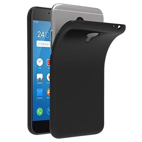 iVoler Hülle für Meizu M3 Note, Premium Schwarz Tasche Schutzhülle Weiche TPU Silikon Gel Schutzhülle Case Cover für Meizu M3 Note