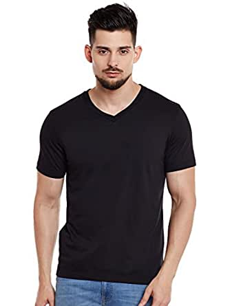 VIMAL JONNEY Men's V Neck Cotton Tshirt