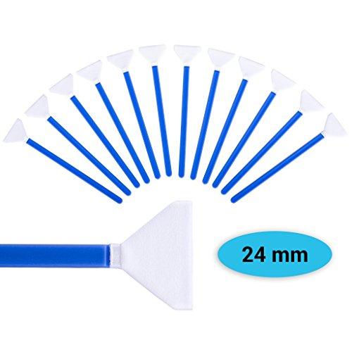 Sensor Cleaning Swabs zur Reinigung von Vollformat Sensoren, aus Mikrofaser, Kamera Reinigungsset mit 12x Swab in staubdichtem Pack von Lens-Aid (24 mm)