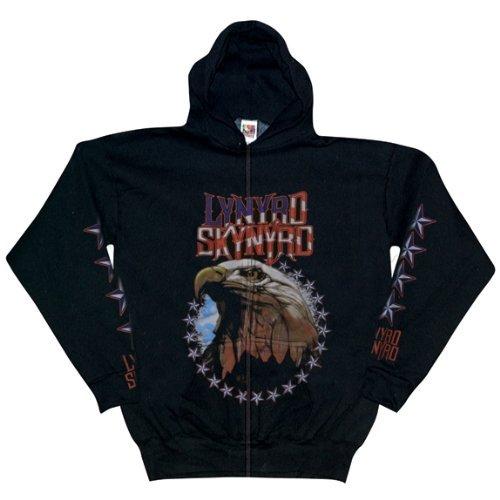 Lynyrd Skynyrd - American Eagle Zip Up Hoodie - X-Large (Outerwear Eagle American)