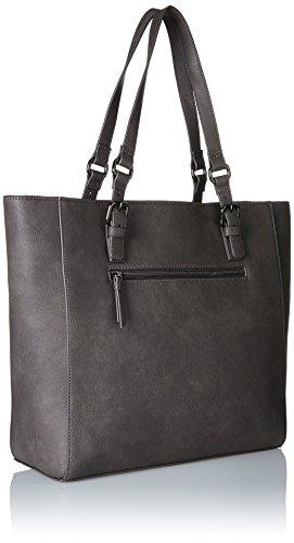 Sansibar - Shopper Bag, Borse a secchiello Donna Grigio (Dim Grey)