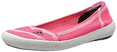 adidas Boat Slip-On Sleek, Damen Geschlossene Ballerinas, Rot (Flash Red S15/Dark Grey/Chalk White), 38 EU (5 Damen UK)