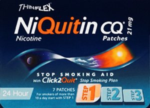 Niquitin Cq Patches Original 21Mg 7 Pack by GlaxoSmithKline Consumer