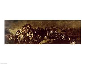 Francisco De Goya – Pèlerinage à la fontaine de San Isidro Impression d'art Print (60,96 x 45,72 cm)