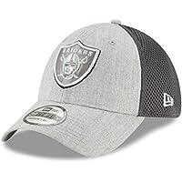 "Oakland Raiders New Era NFL 39THIRTY ""Heathered Neo Pop"" Flex Fit Hat"