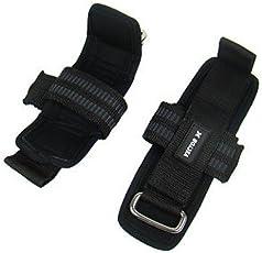 Vector X VX-6000 Weight Lifting Straps (Black)