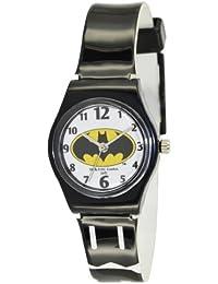 Batman BT52800-917 - Reloj analógico de cuarzo para niño, correa de plástico bicolor