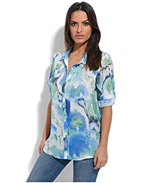 S quise - Camisa GLORY - Mujer - 52 - Azul